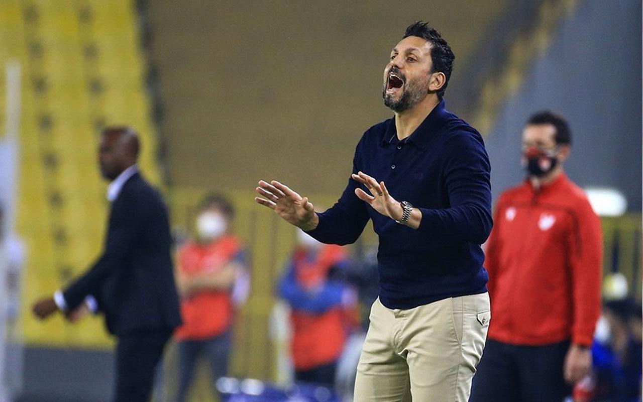 Erol Bulut'tan Trabzonspor maçını kazandıran devre arası konuşması