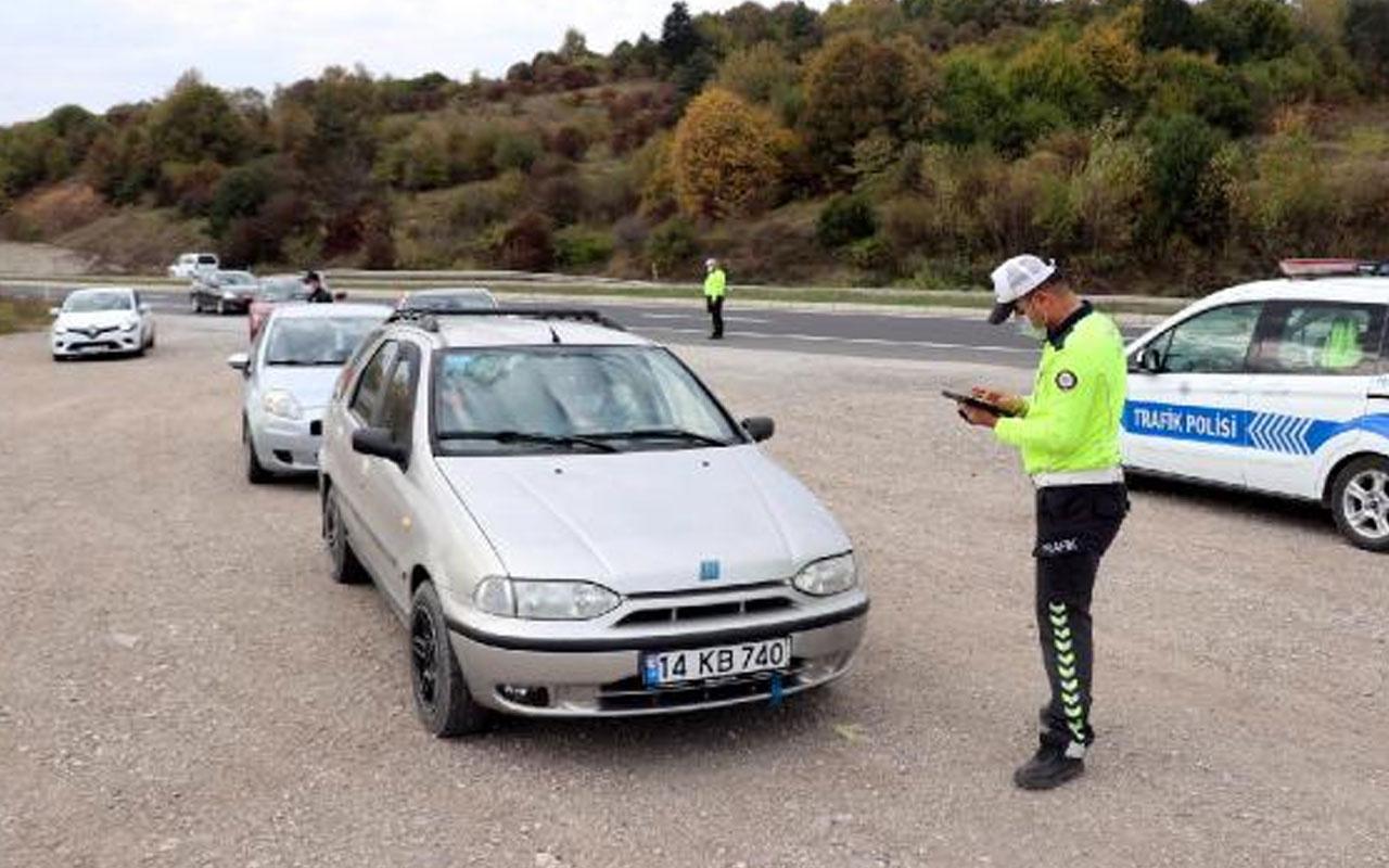 Bolu'da yaşandı! Karantina sürelerinin dolmasına 3 saat kala polise yakalandılar