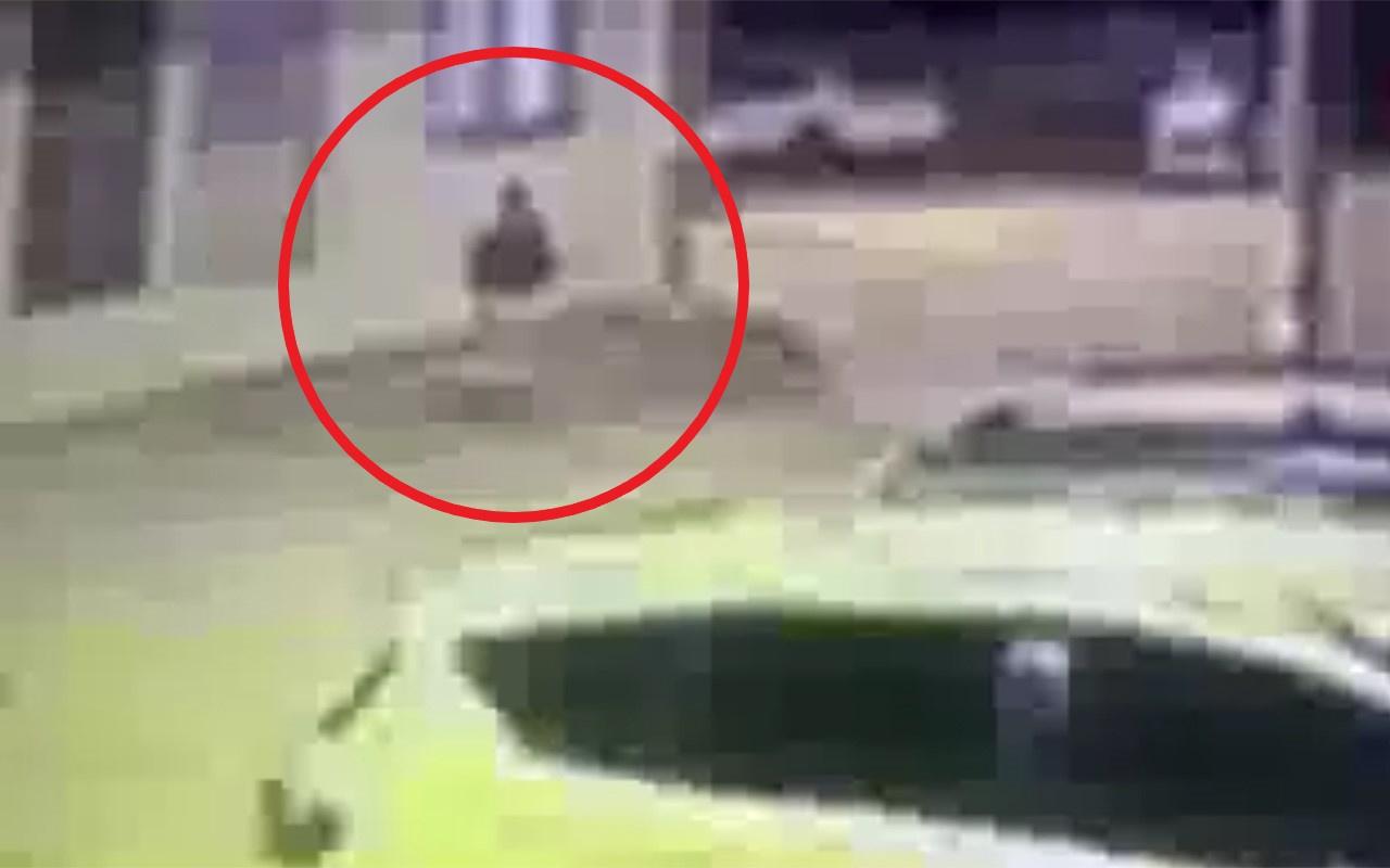 Hatay İskenderun'da teröristlerin kaçış anı böyle görüntülendi