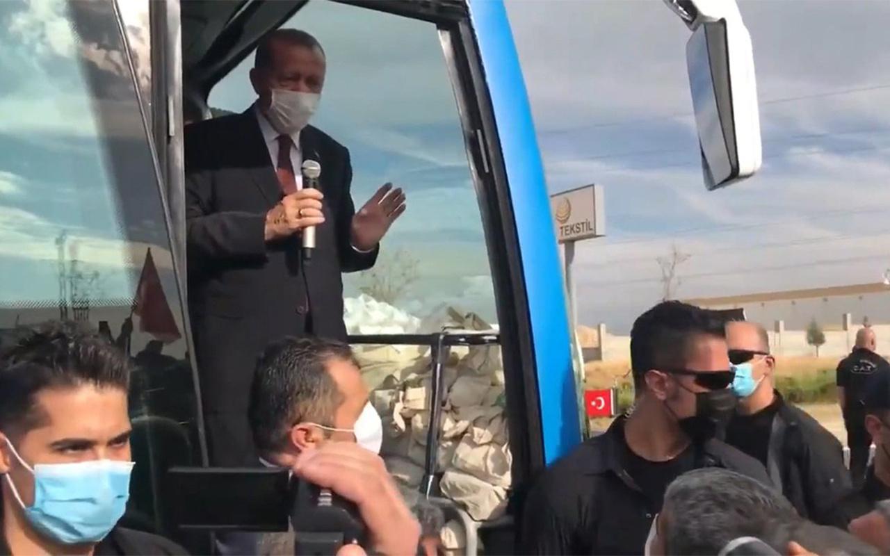 Cumhurbaşkanı Erdoğan'ın 'eve ekmek götüremiyoruz' diyen esnafa yanıtı