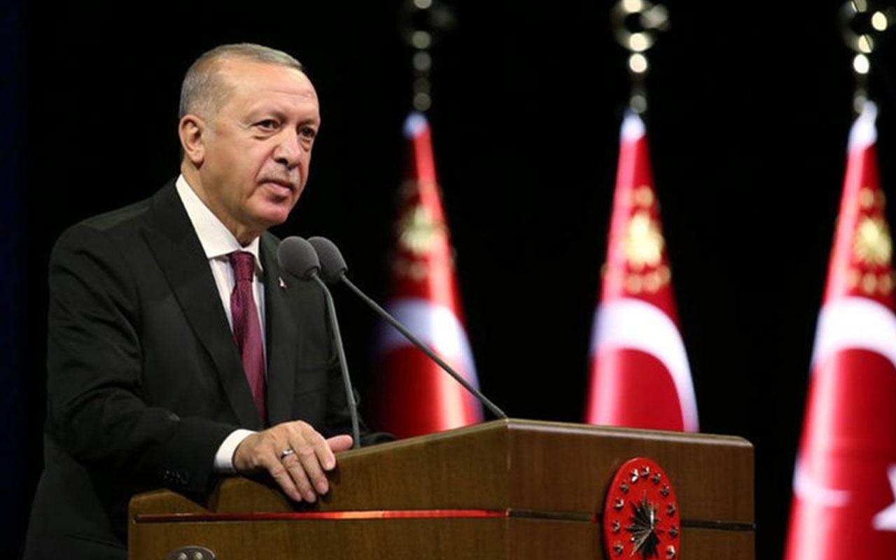 Erdoğan külliyede o isimleri kabul etti