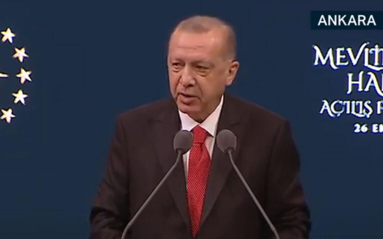 Cumhurbaşkanı Erdoğan'dan boykot çağrısı: Sakın Fransız markaları satın almayın