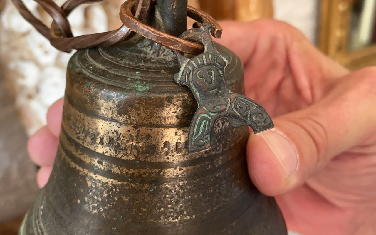 Bursa'da hurdacı buldu incelemeye alındı Ayasofya'nın kayıp 2 bin yıllık çanı