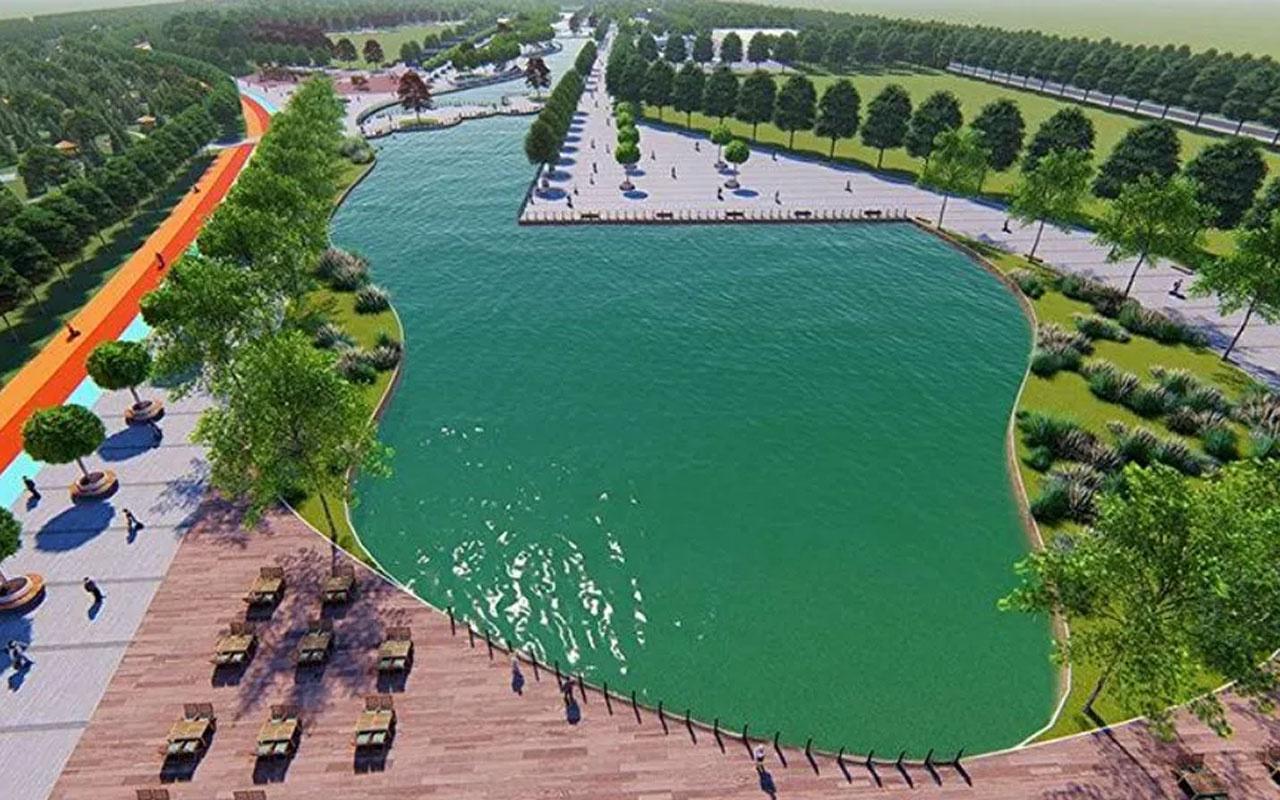 Kayseri'ye 101 milyon TL'lik millet bahçesi inşa edilecek! İsmi de Recep Tayyip Erdoğan