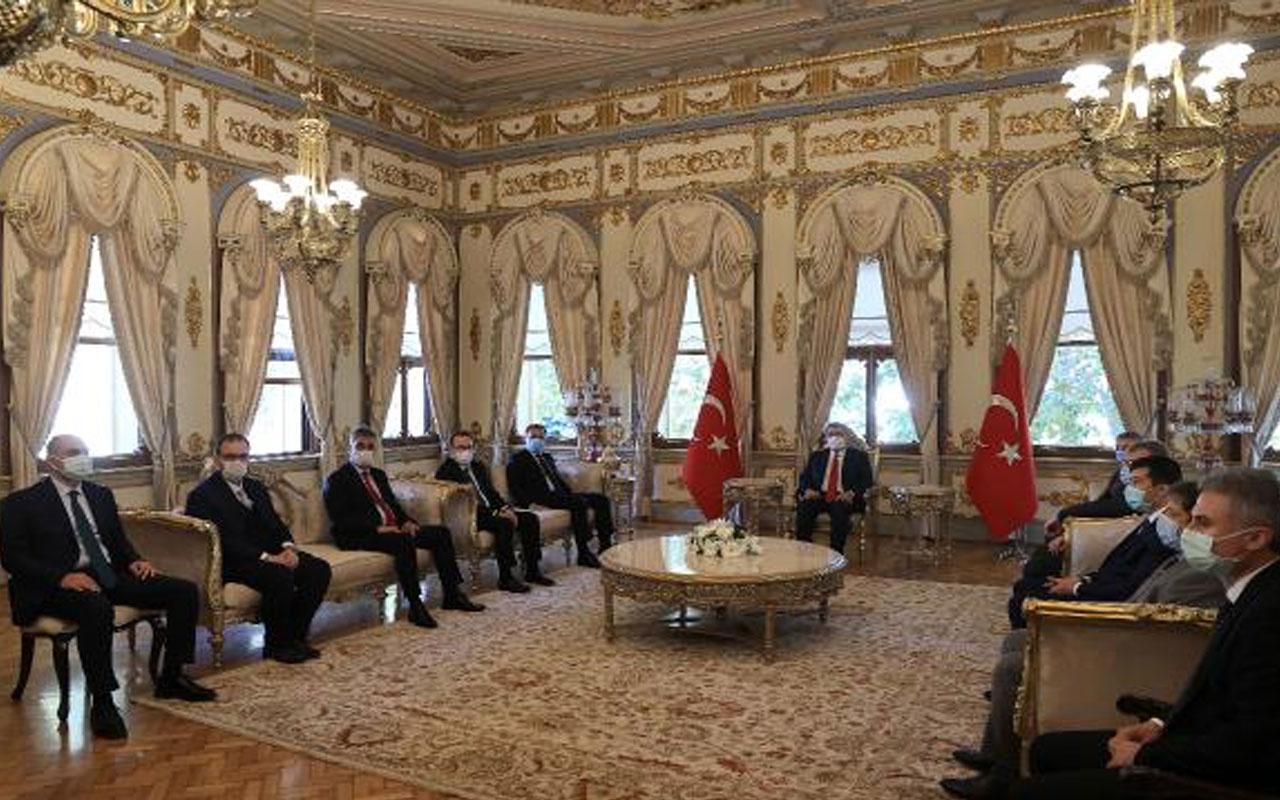 Sağlık Bakanı Fahrettin Koca İstanbul Valiliği'ne geldi! Yeni yasaklar kapıda mı?