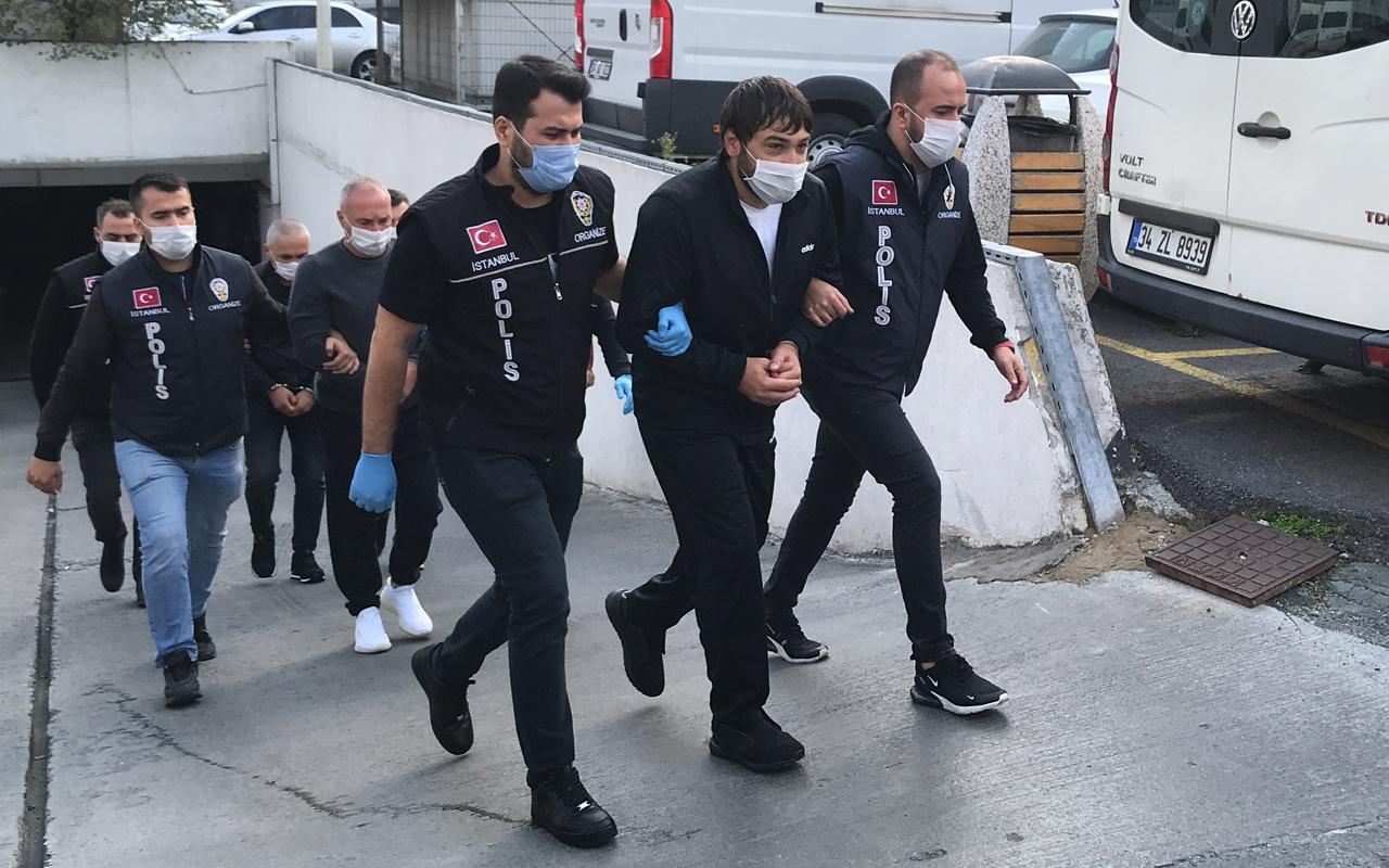 Uluslararası suç örgütü liderine İstanbul'daki otelde operasyon!