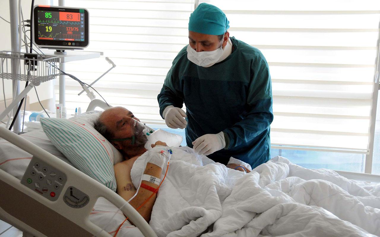 Korona salgınıyla savaşan doktor Covid-9'a yakalanan babasını kurtaramadı