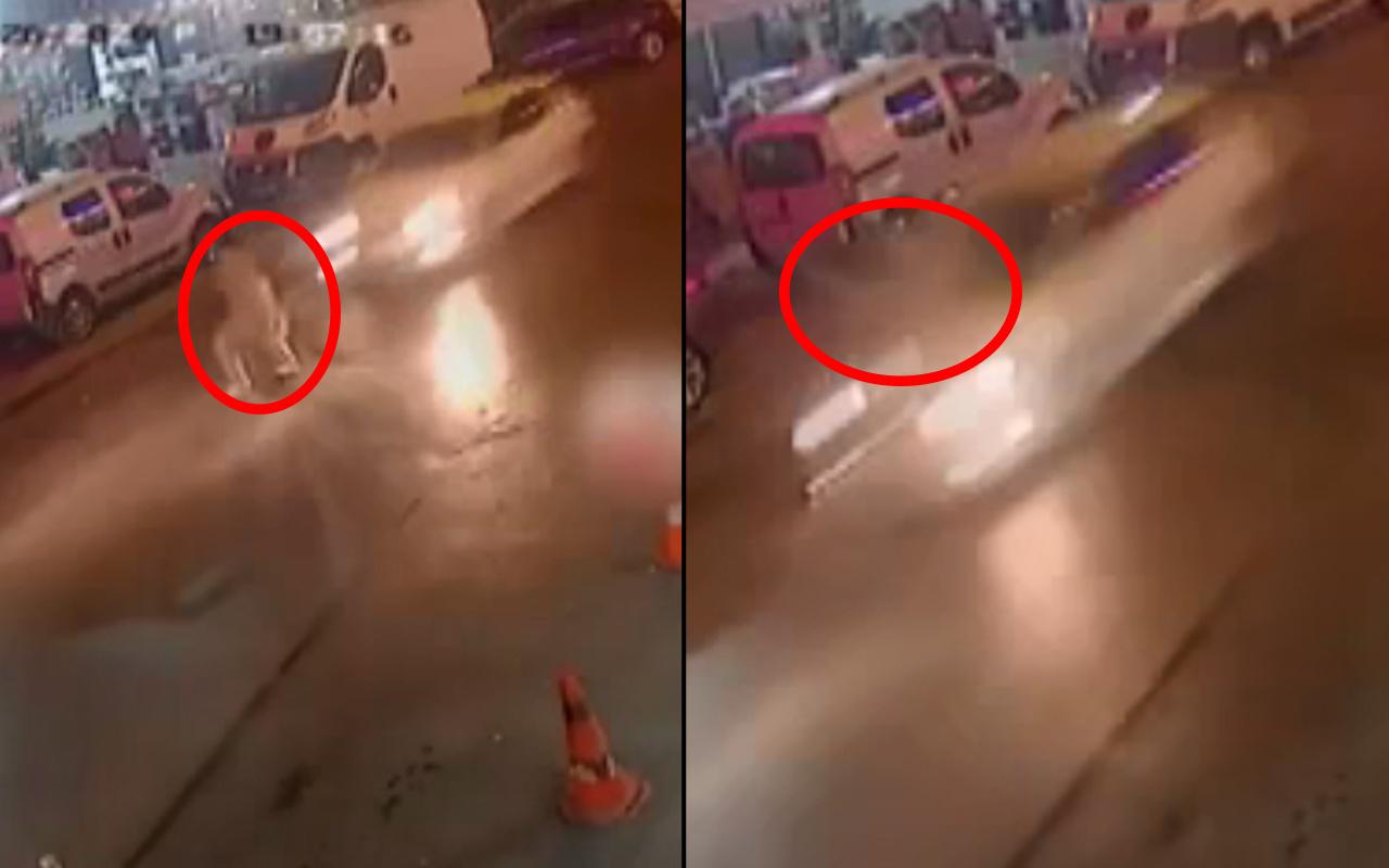 İzmir'de feci kaza! Havaya uçtu metrelerce sürüklendi