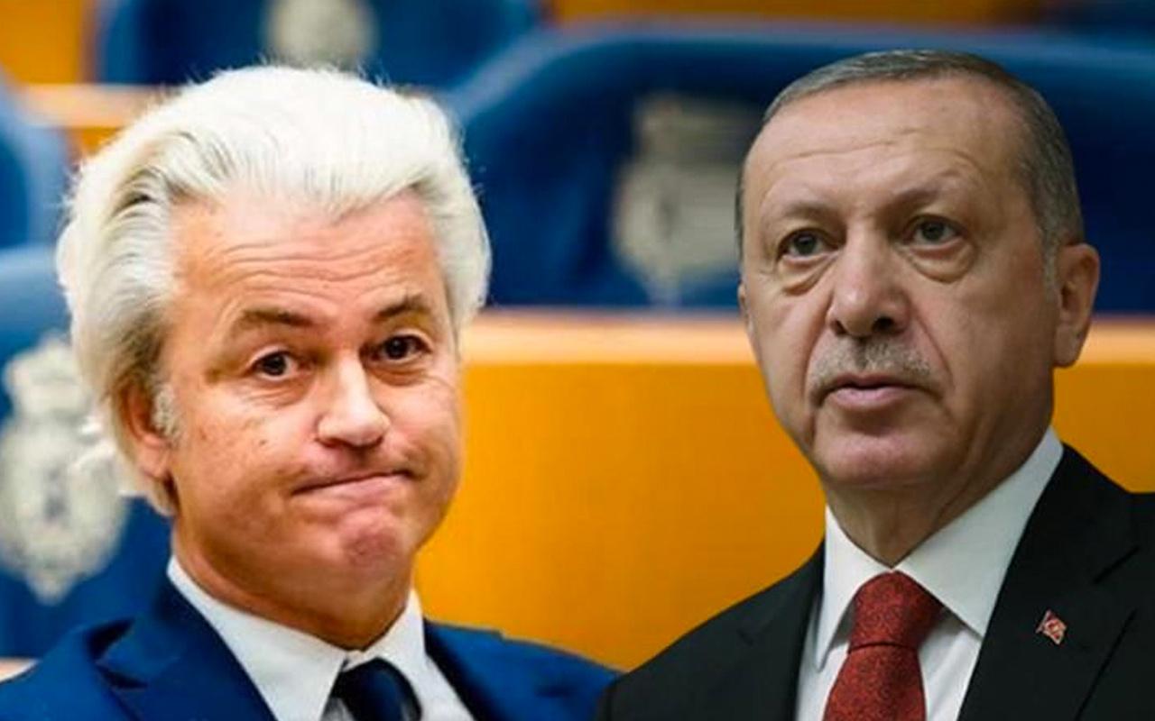 Cumhurbaşkanı Erdoğan'dan İslam düşmanı Geert Wilders hakkında suç duyurusu