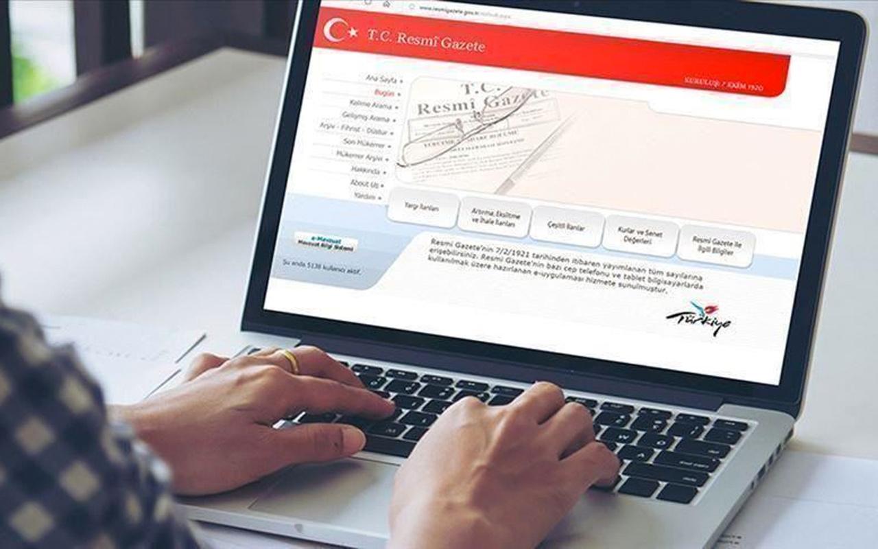 Atama kararları Resmi Gazete'de yayımlandı Erdoğan imzaladı
