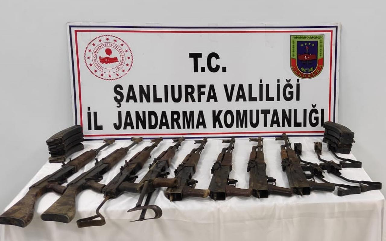 Şanlıurfa'da 8 uzun namlulu silah ele geçirildi