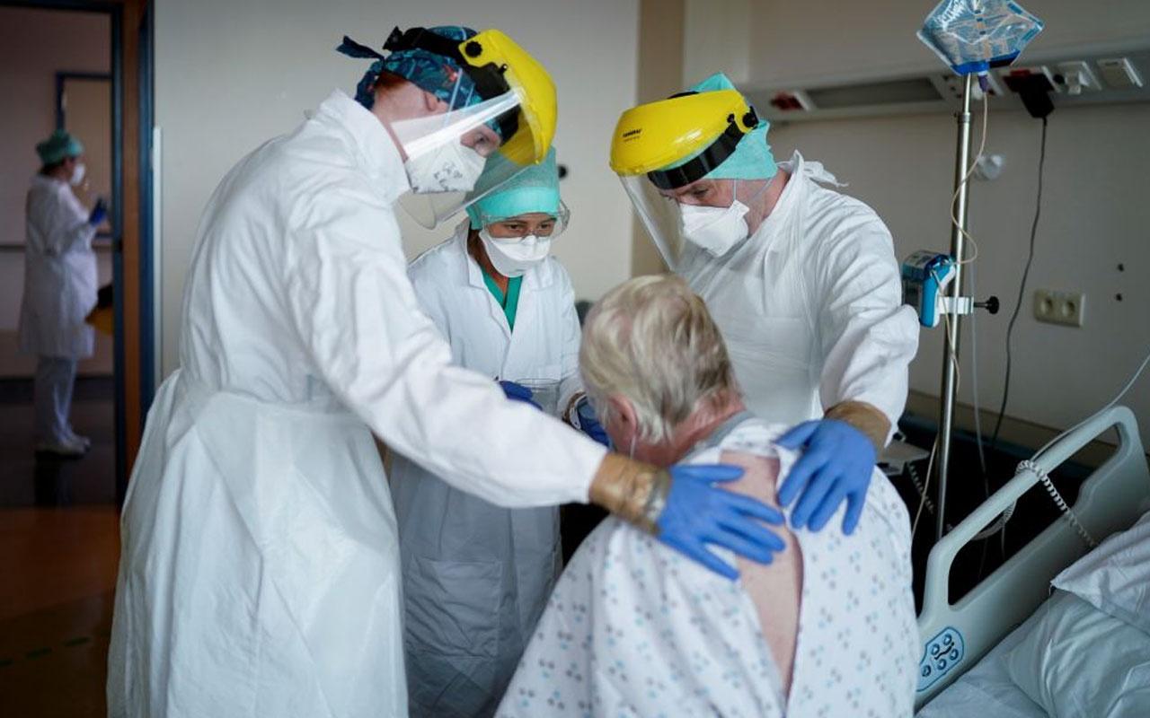 Belçika'da Covid-19 pozitif çıkan doktorların 'çalışmaya devamı' istendi