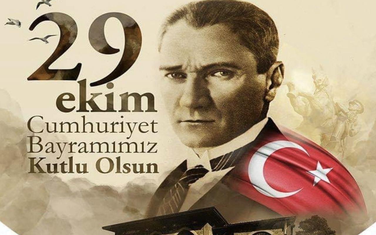 29 Ekim mesajları 2020 resimli kısa görselli Cumhuriyet Bayramı mesajları