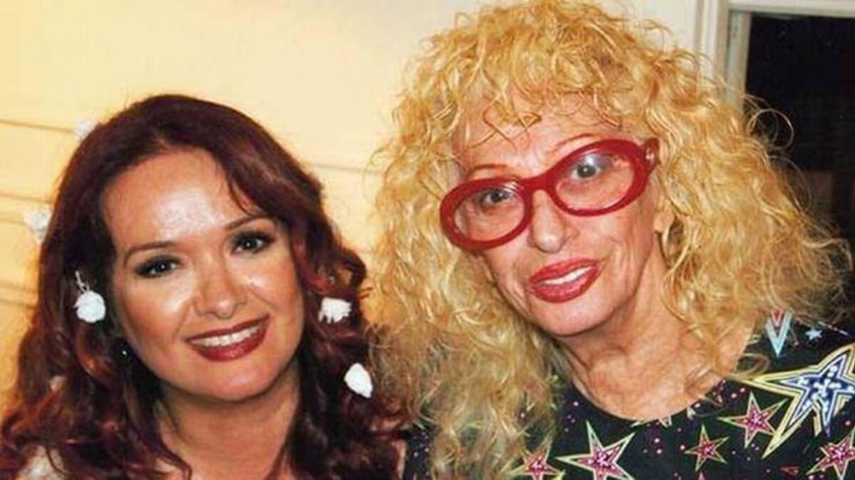 Müjde Ar annesi Aysel Gürel ile pozunu paylaştı! Binlerce beğeni yağdı