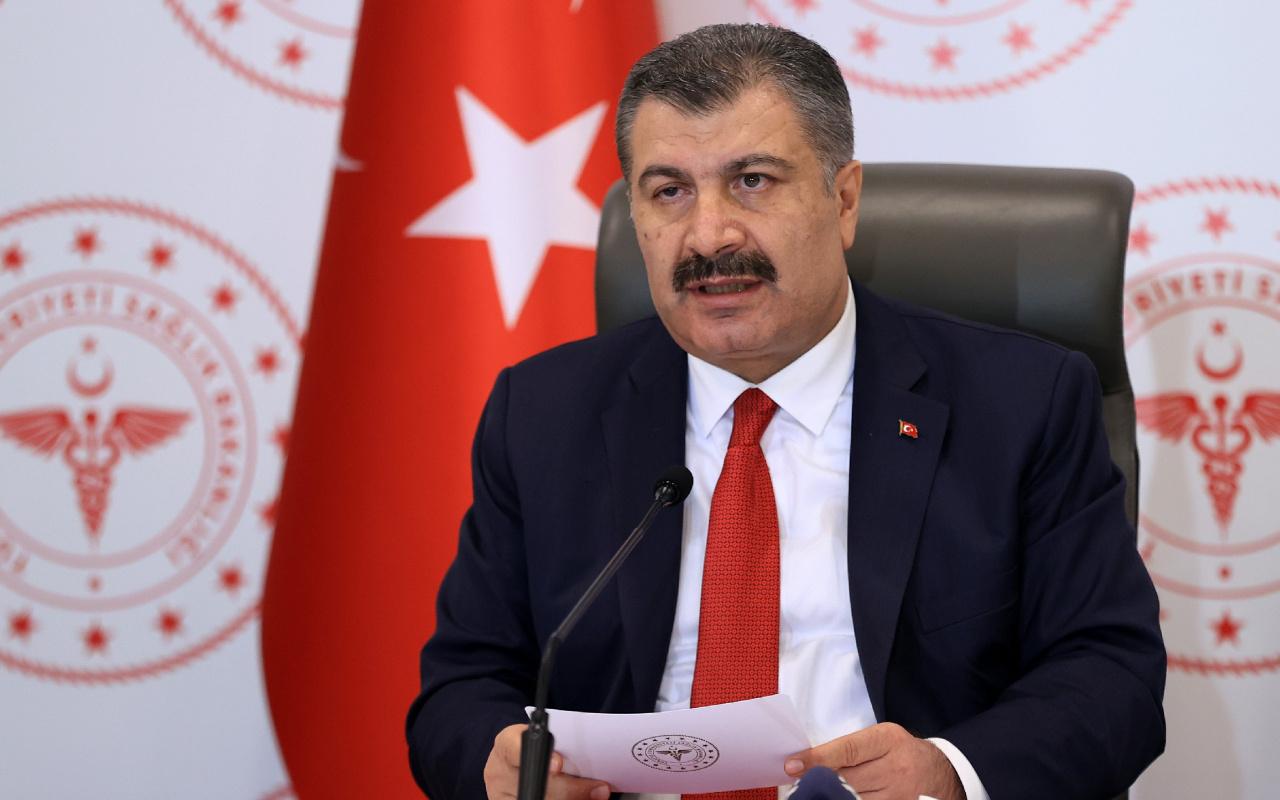 Sağlık Bakanı Fahrettin Koca korona tehlikesinin arttığı ve azaldığı illeri açıkladı