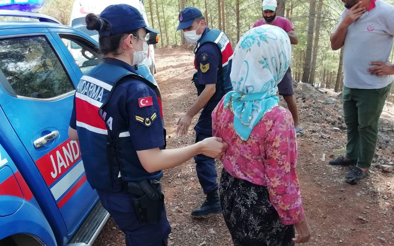 Mersin'de yaşandı! 10 gün önce kaybolan kadın ormanlık alanda bulundu