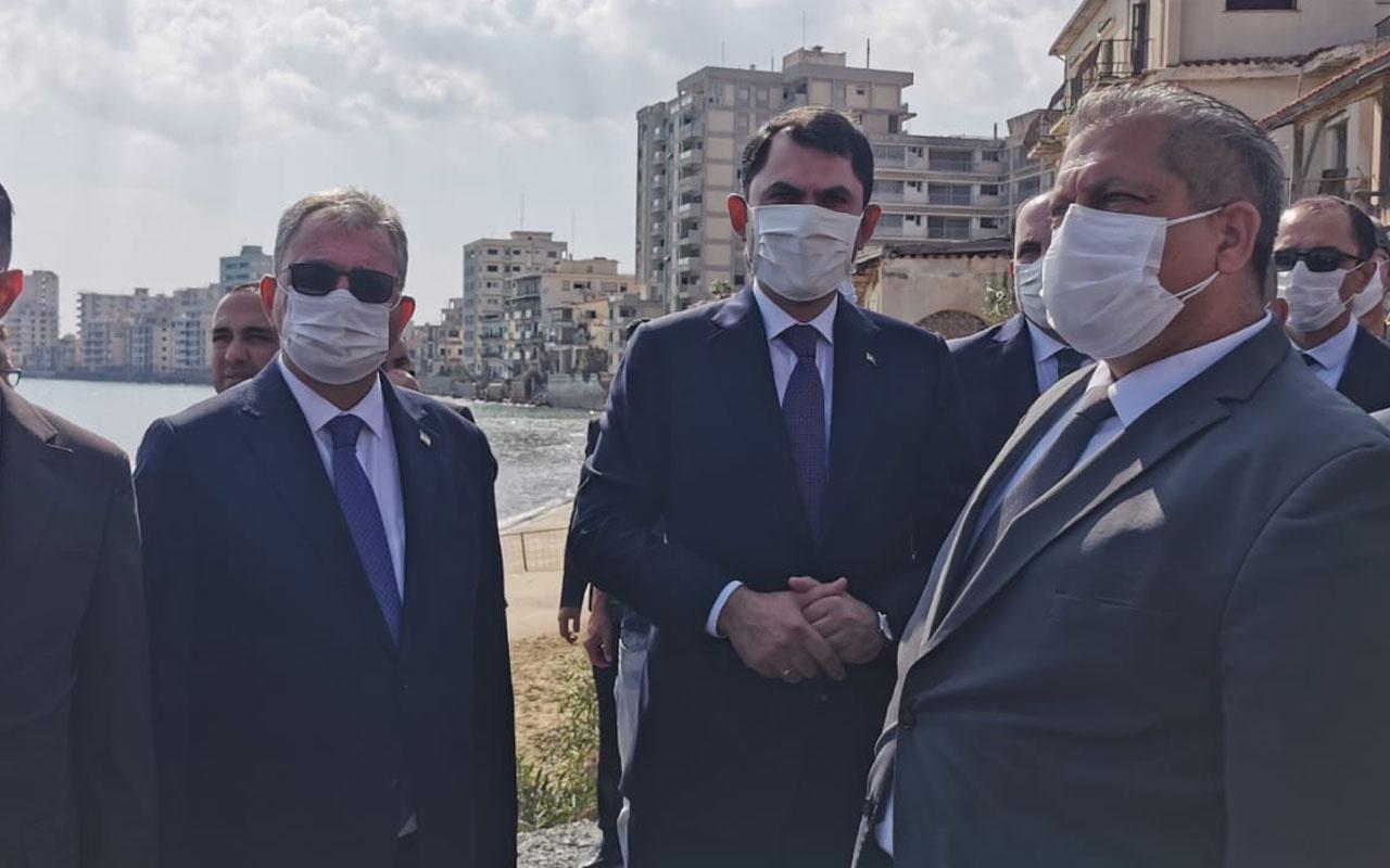 Çevre ve Şehircilik Bakanı Murat Kurum KKTC'de