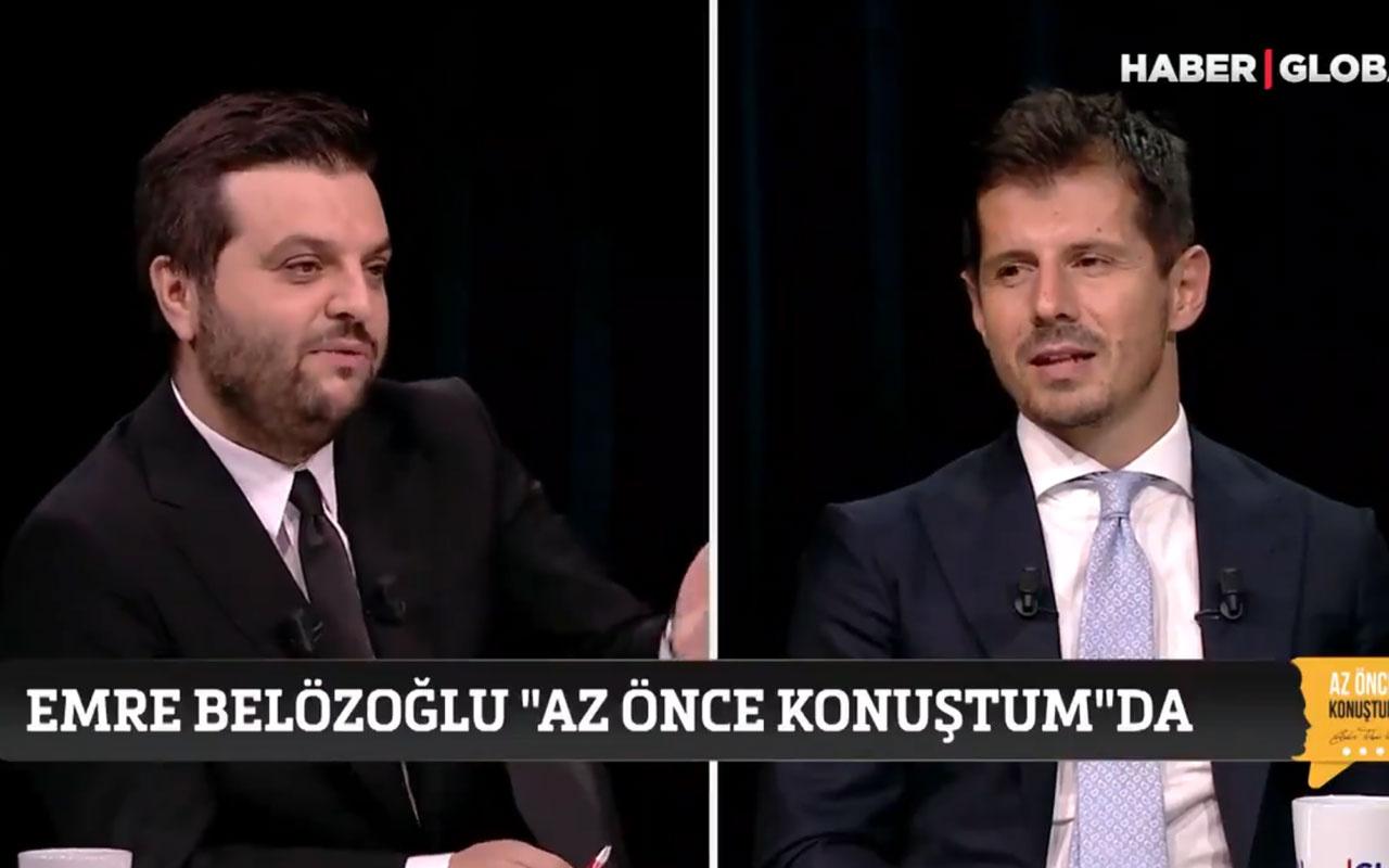 Emre Belözoğlu'ndan Hagi mi Alex mi sorusuna dikkat çeken yanıt