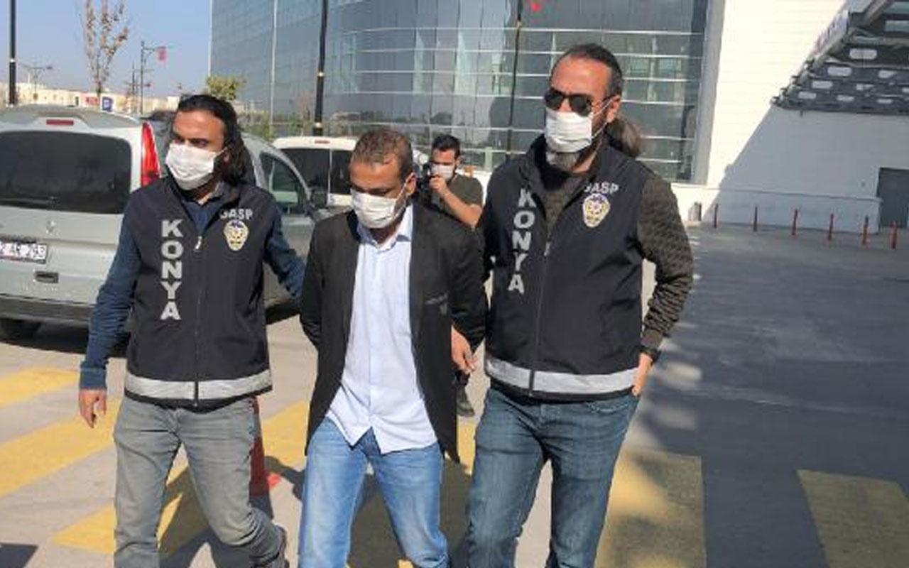 Konya'da yaşandı! Cezaevi arkadaşıyla kayınvalidesinin evini soydu