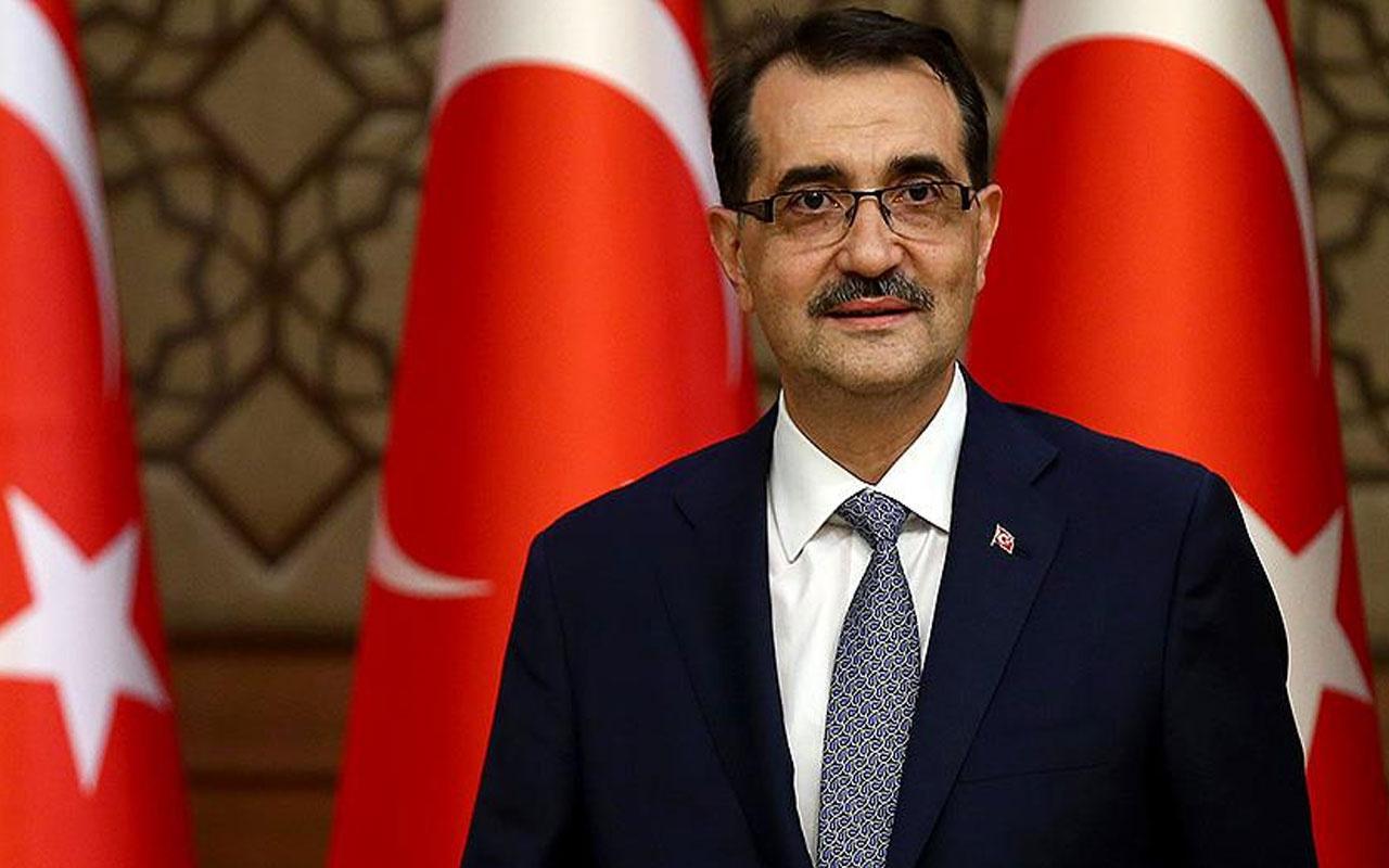Enerji ve Tabii Kaynaklar Bakanı Fatih Dönmez'den 29 Ekim mesajı