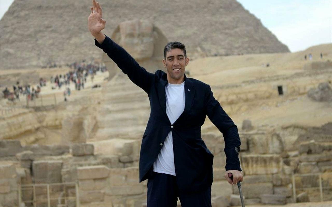 Mardinli Sultan Kösen koronavirüse yakalandı dünyanın en uzun insanı