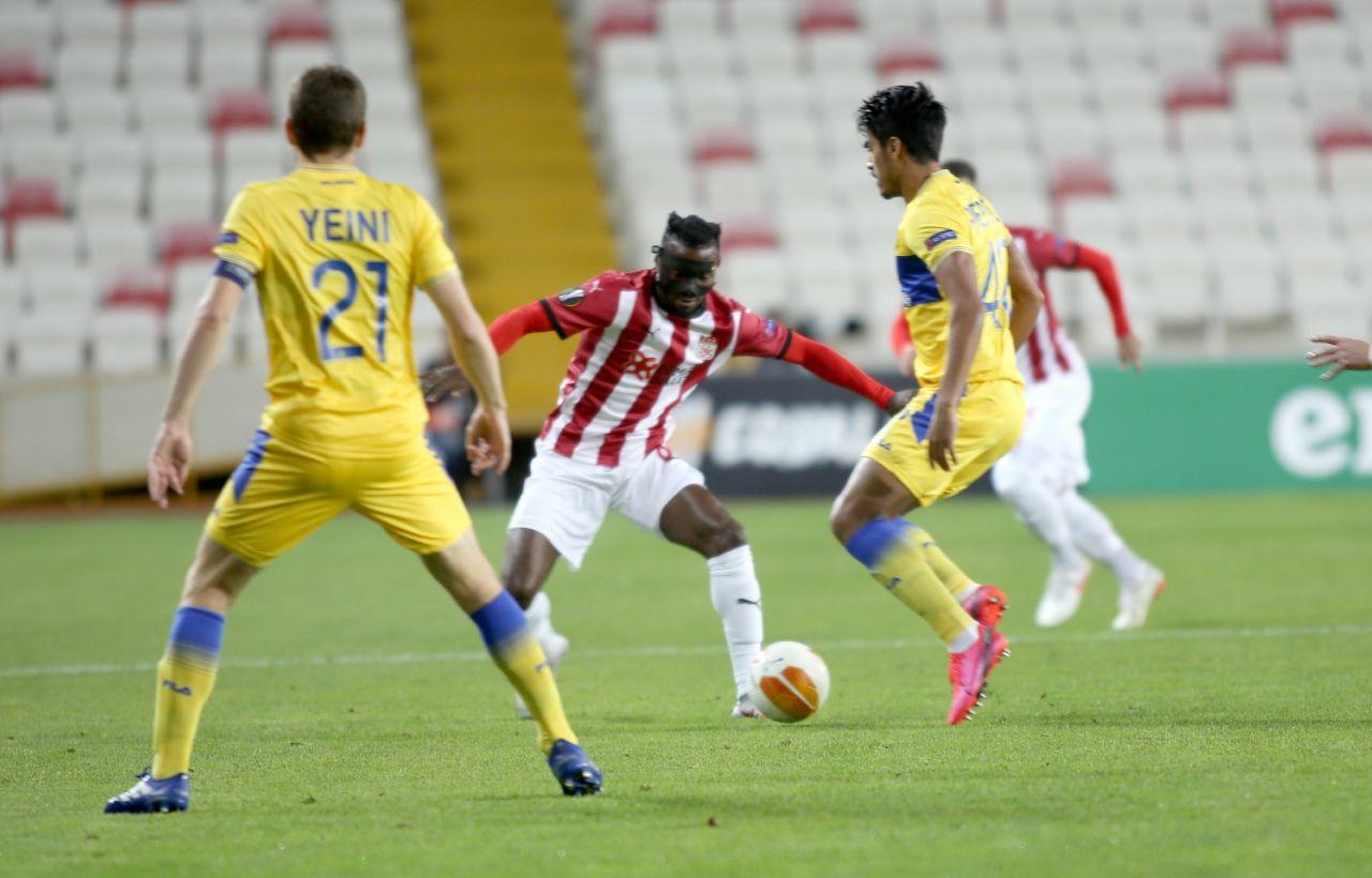Sivasspor Maccabi Tel-Aviv'e diş geçiremedi