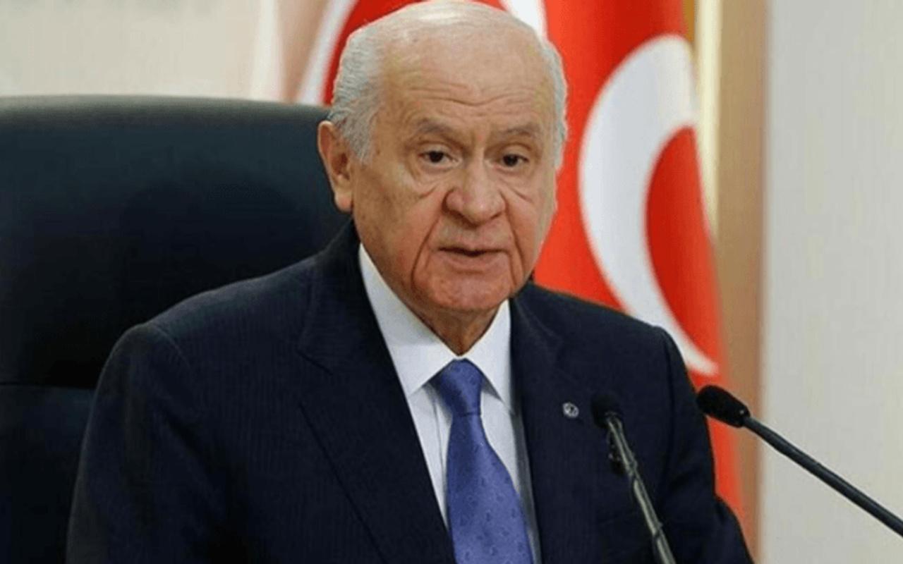 MHP Lideri Bahçeli'den İzmir depremi sonrası geçmiş olsun mesajı