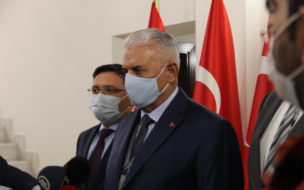 Binali Yıldırım İzmir'e hareket etti! Depremle ilgili açıklama yaptı