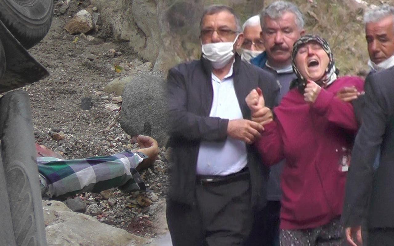 Antalya'da kamyonetle 15 metreden düştü kimse fark etmedi! Haberi alan eşi yıkıldı