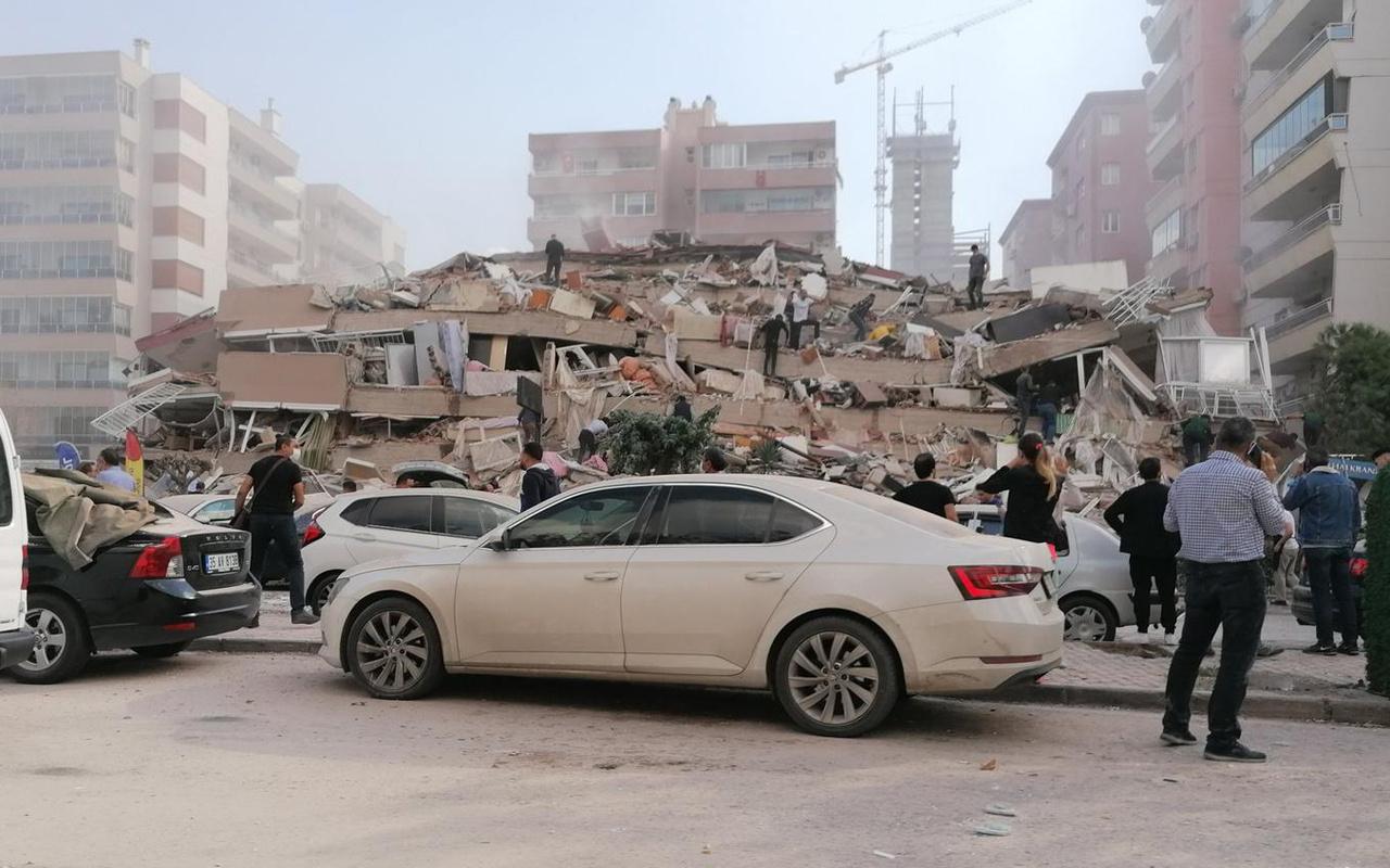İçişleri Bakanı Süleyman Soylu'dan İzmir depremi açıklaması