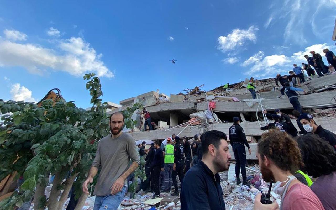 Bakan Murat Kurum'dan İzmir depremiyle ilgili yapılan çalışmalara ilişkin açıklama