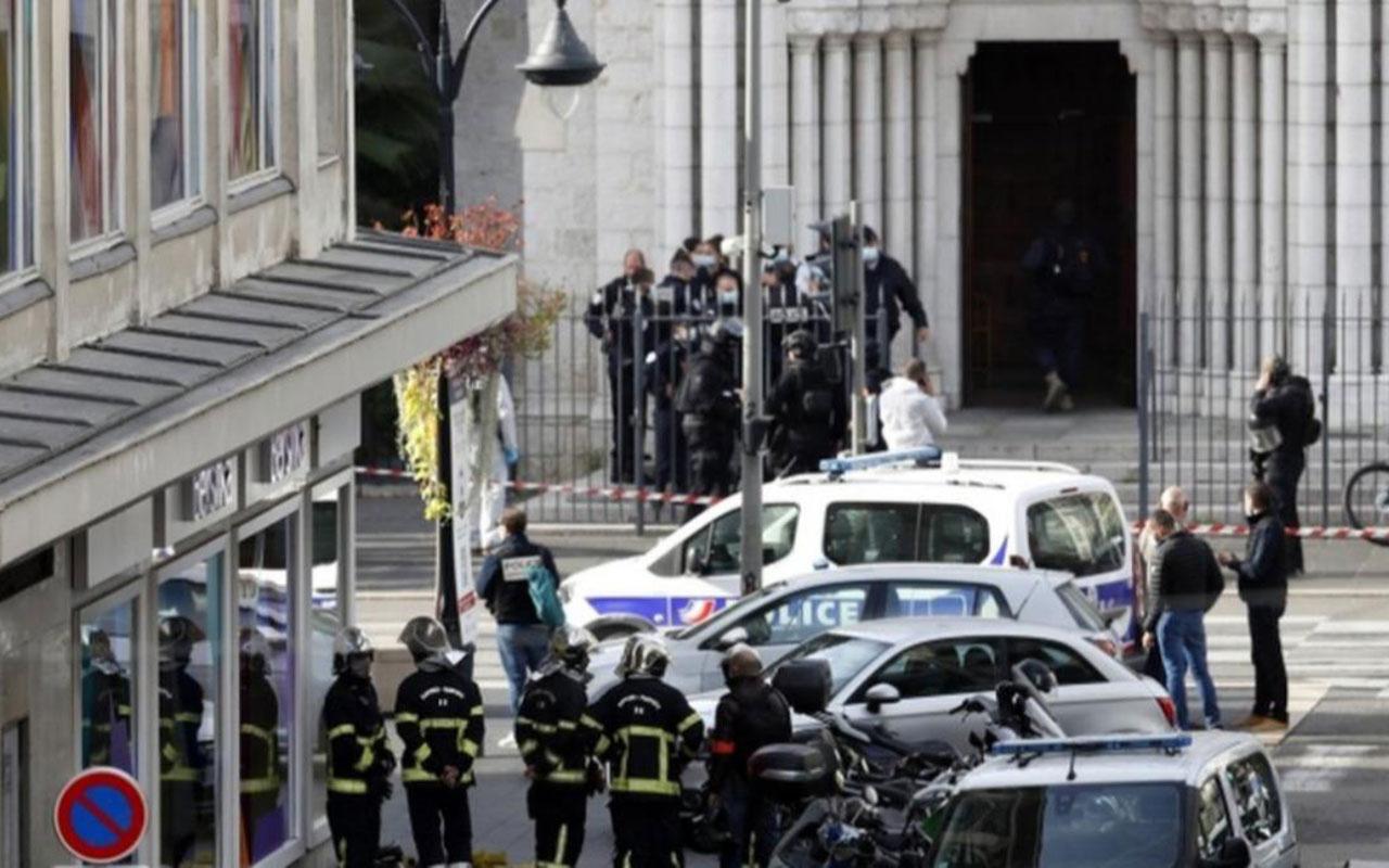 Fransa'da kafa kesilen saldırıdan şok detaylar! Saldırgan Tunuslu ve 3 bıçakla gelmiş