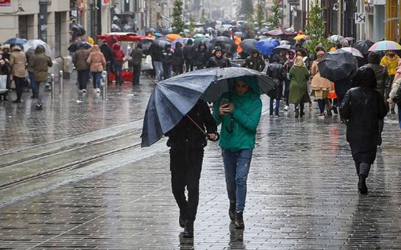 Meteoroloji uyardı: 6 kente birden sağanak yağış geliyor