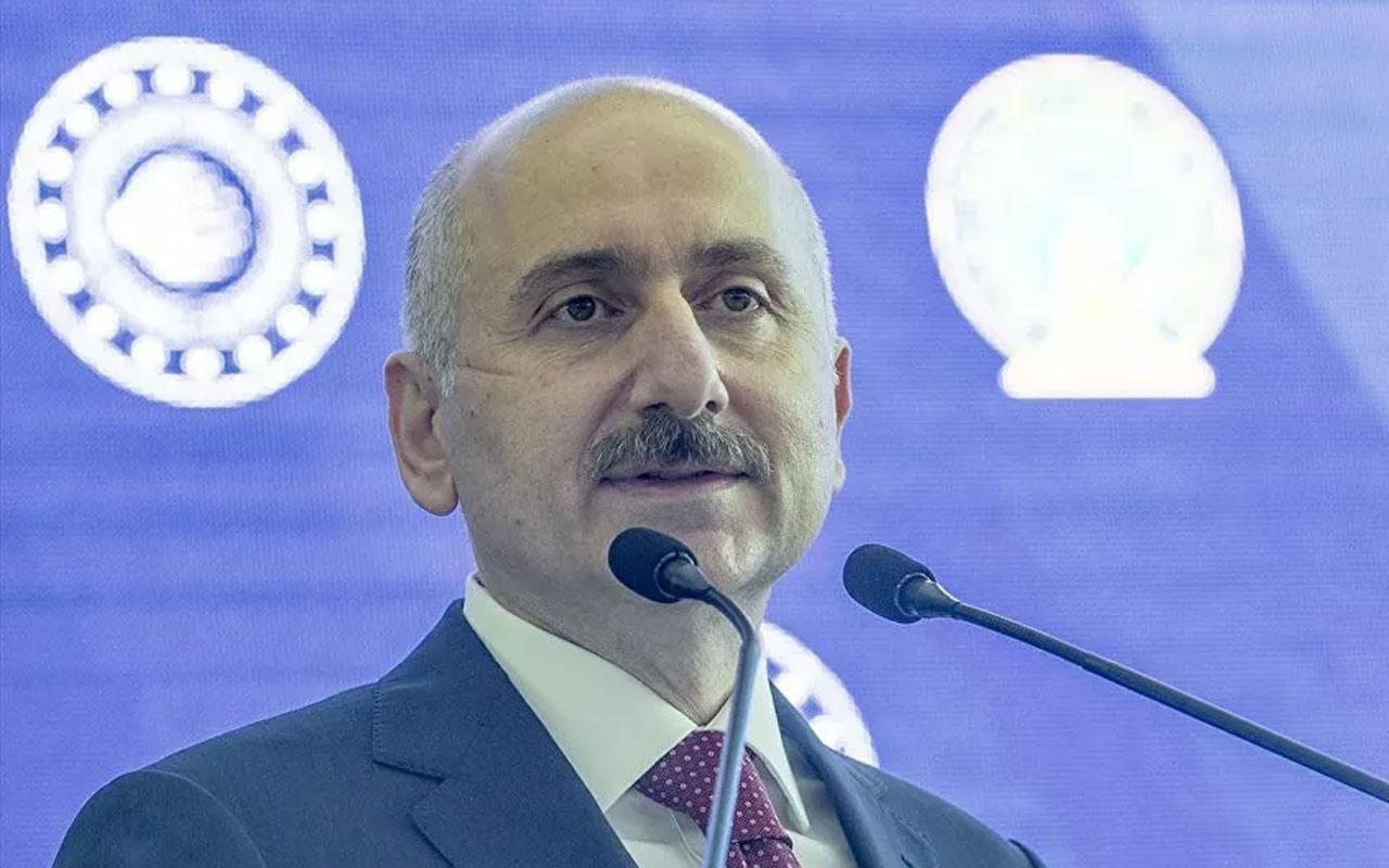 Ulaştırma Bakanı Karaismailoğlundan İzmir'de ulaşım ve iletişim açıklaması