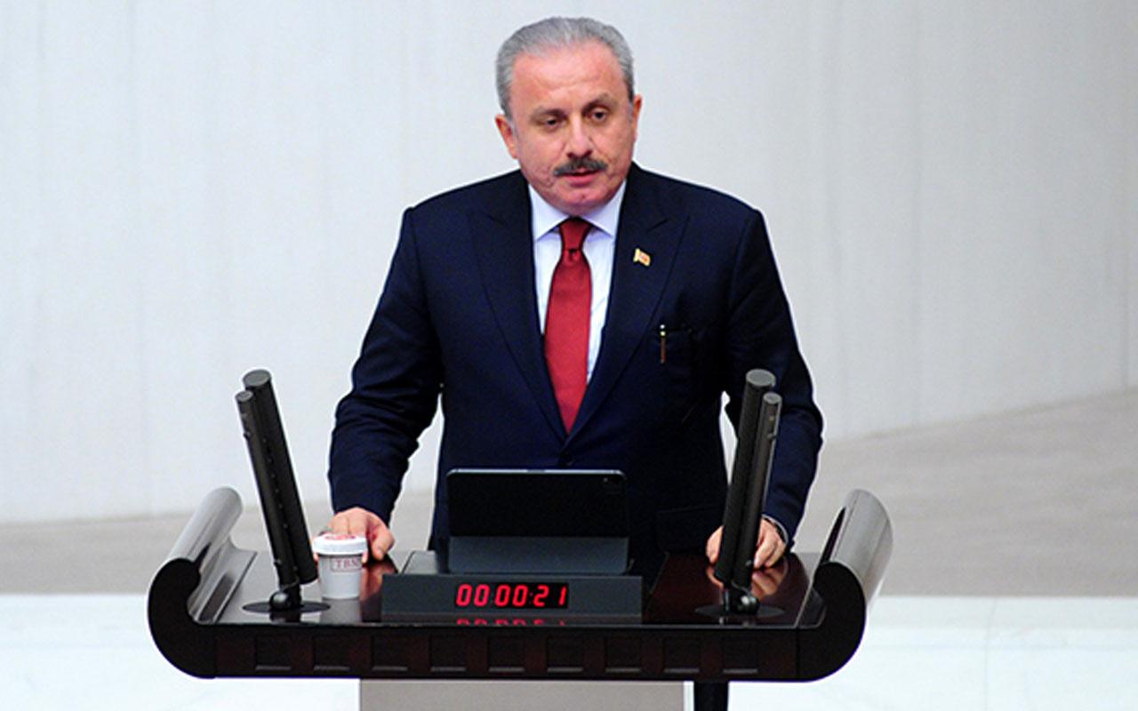 Meclis Başkanı Mustafa Şentop'tan 'Berberoğlu' tepkisi: Ne yaptınız arkadaşınız için? Hiçbir şey