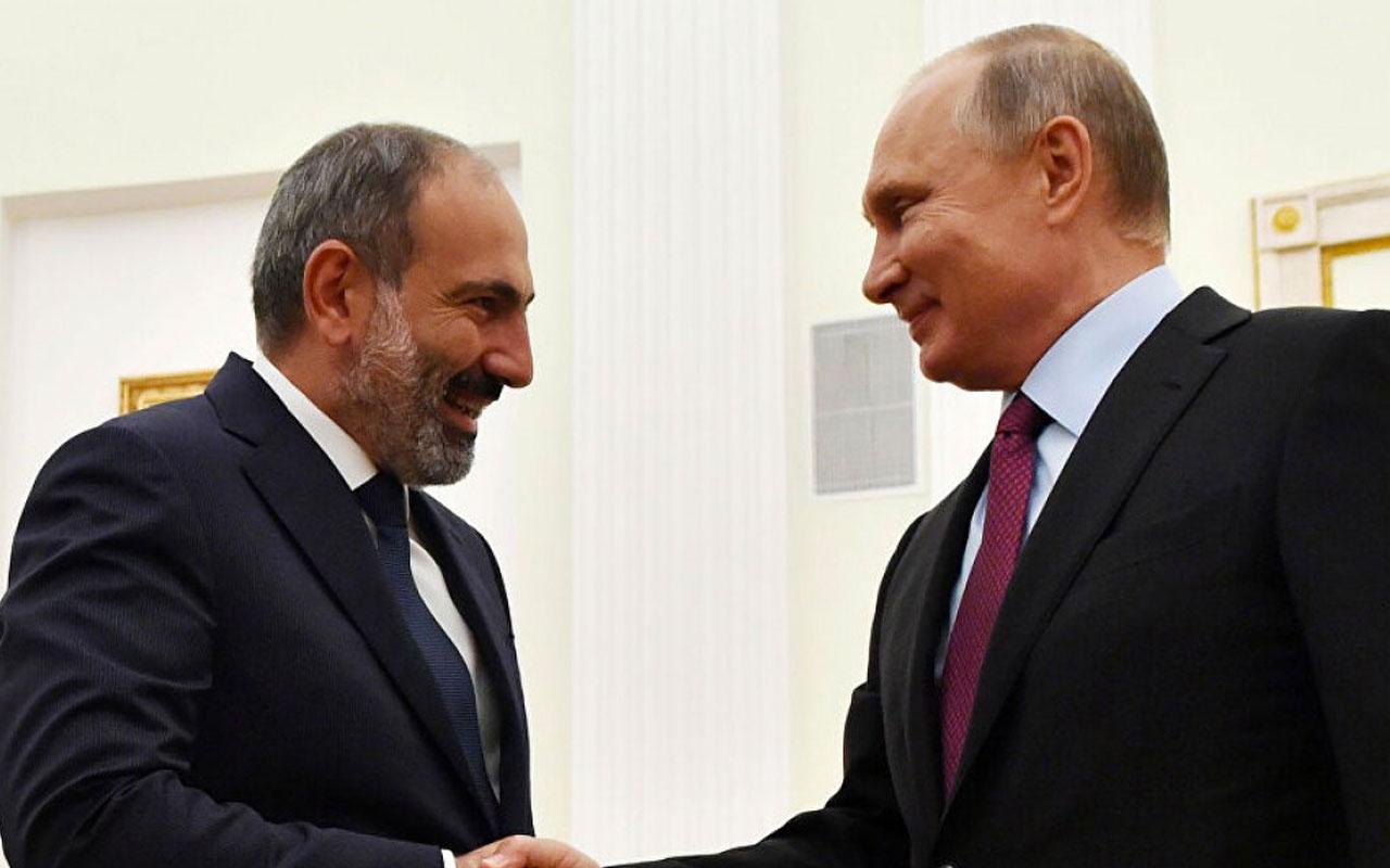 Ermenistan Başbakanı Paşinyan Karabağ için yine Rusya'nın kapısını çaldı