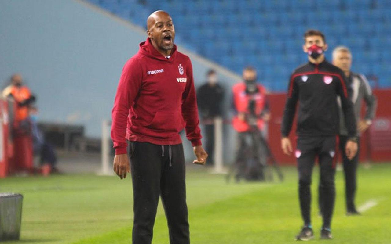 Trabzonspor'da beklenen gelişme! Teknik direktör Eddie Newton kovuldu