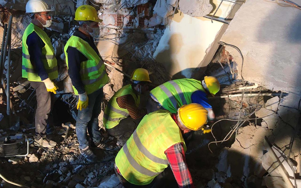 Somalı madenciler eylemi bırakıp İzmir'e yardıma koştu