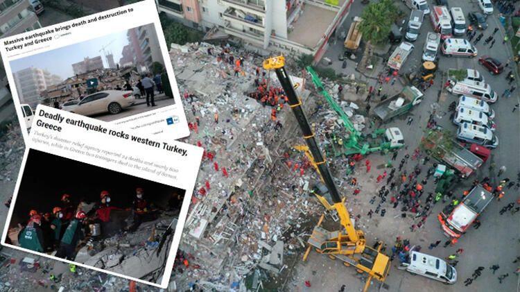 Dünya basını İzmir depremini böyle gördü! New York Times: Çılgın bir kurtarma çabası