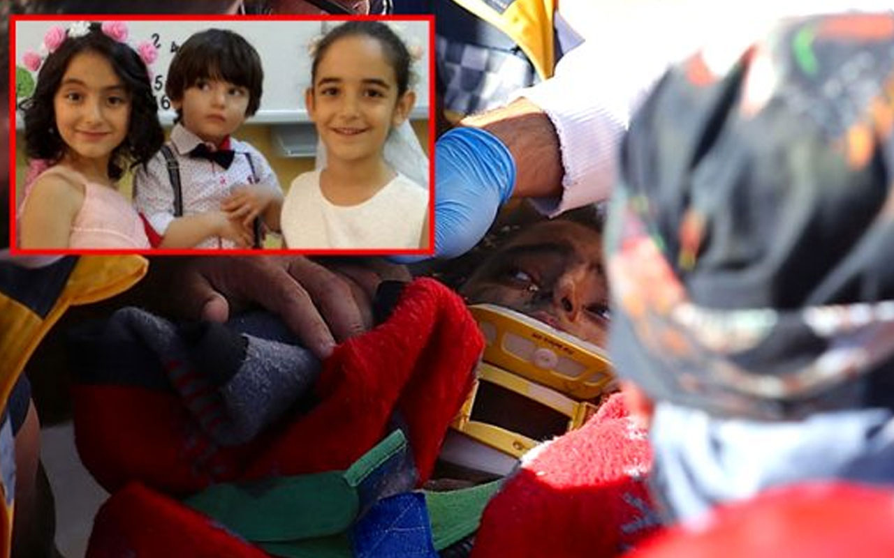 Anne ve 3 çocuğunun kurtarıldığı enkazdan acı haber
