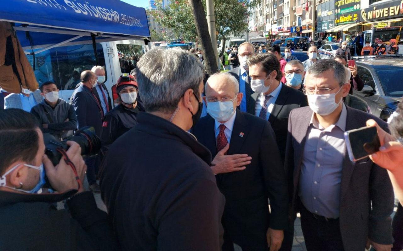 Kemal Kılıçdaroğlu'dan deprem bölgesine ziyaret! İzmir Bayraklı'ya geldi