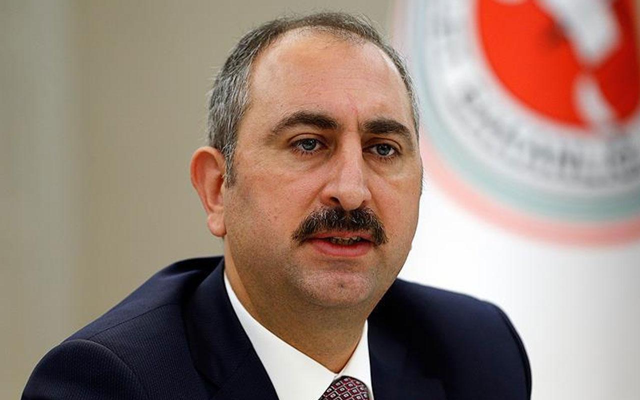 Adalet Bakanı Abdülhamit Gül: Allah'tan geldik, dönüş O'nadır...