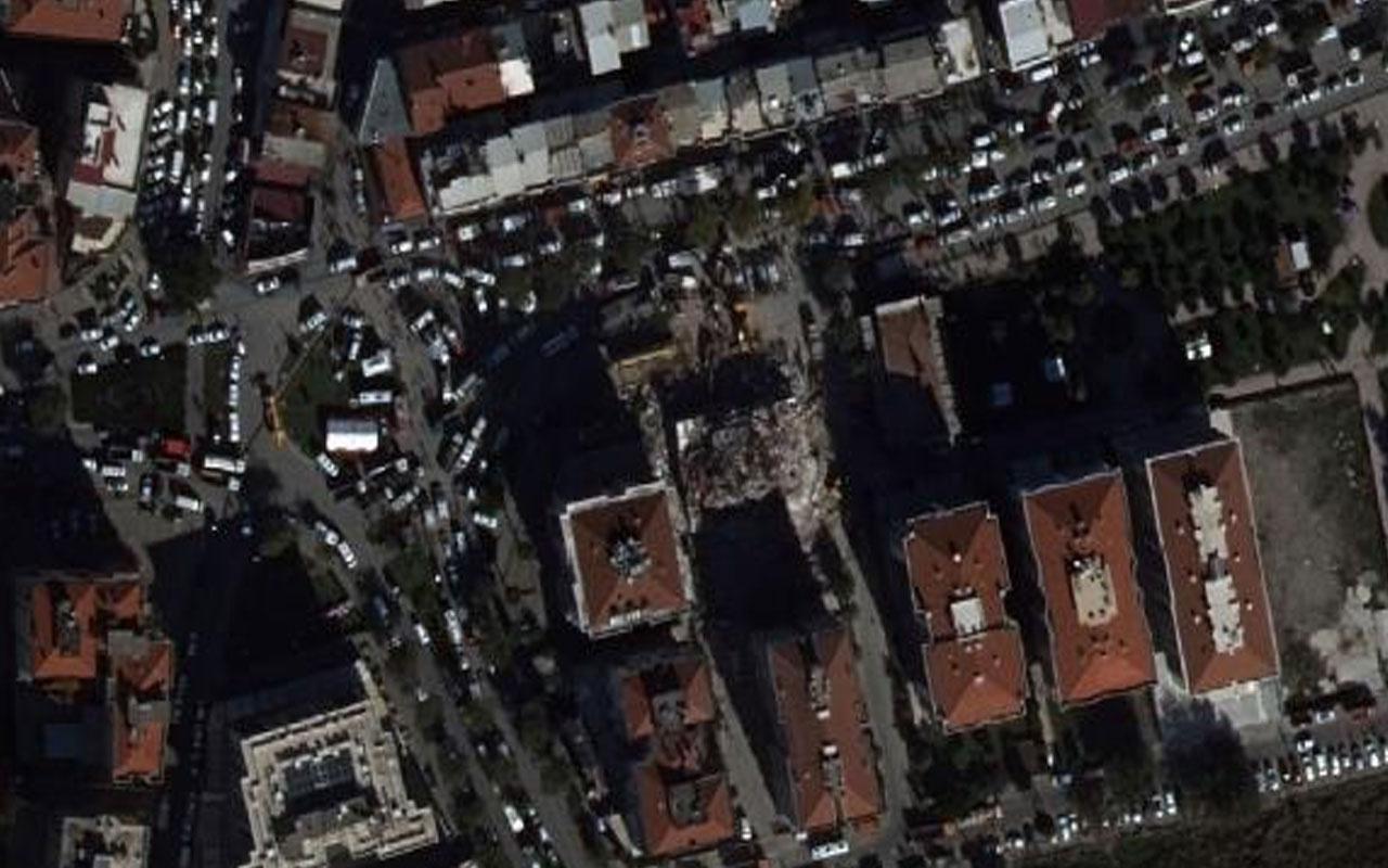 MSB: Uçakla, deprem bölgesinin fotoğrafı çekilerek hasar tespiti yapıldı