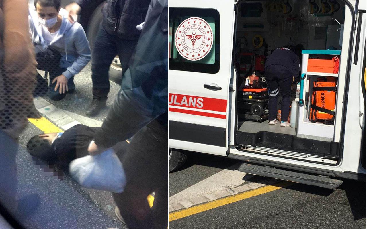 Avcılar'da metrobüs yayaya çarptı! Yaralılar var