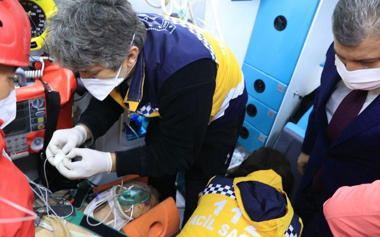 Sağlık Bakanı Fahrettin Koca paylaştı: Hayat bir kez daha kazandı