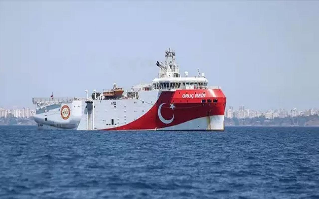 Türkiye'den flaş hamle! Oruç Reis için Doğu Akdeniz'de yeni Navtex