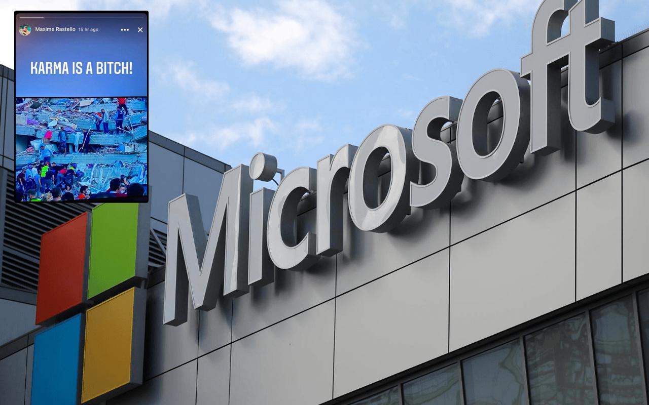 Microsoft yöneticisinden iğrenç İzmir depremi paylaşımı! Maxime Rastello kimdir?