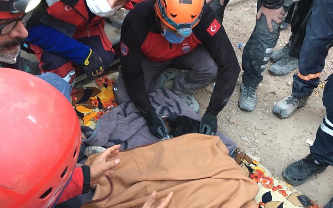 İzmir depremine 65 saat sonra mucize kurtuluş! İşte o anlar