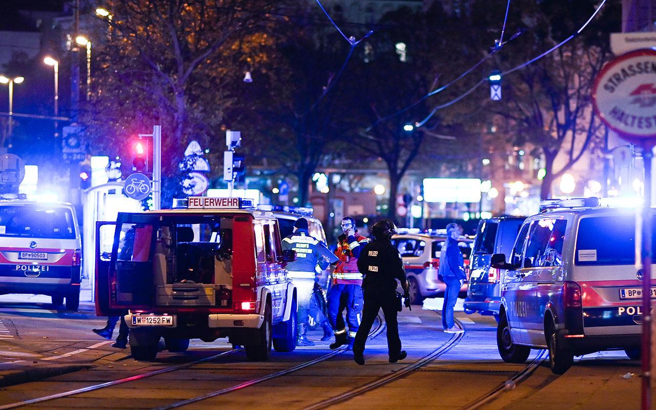Avusturya'nın başkenti Viyana'da terör saldırısı