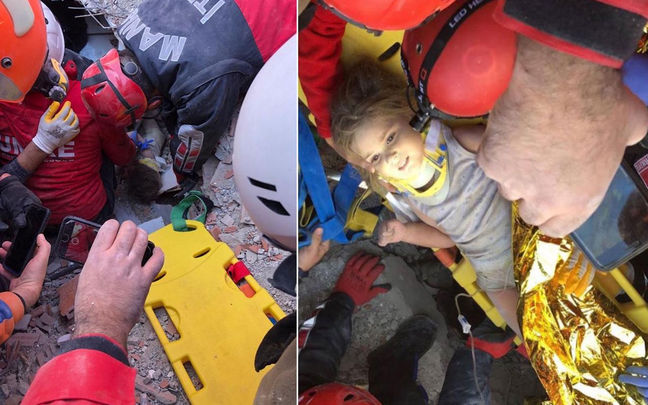 İzmir depreminde 91 saat sonra Ayla bebek enkazdan canlı çıkarıldı
